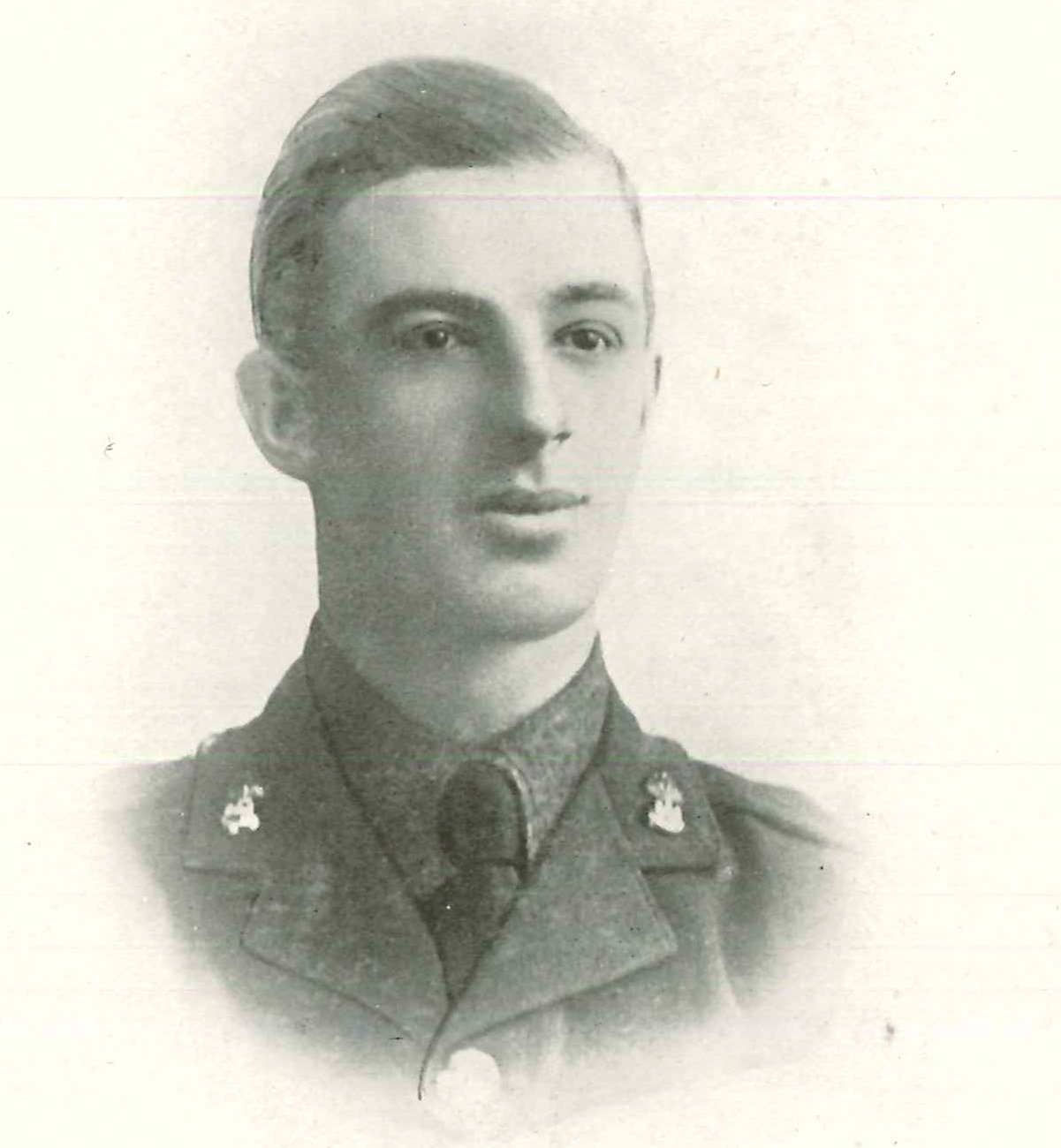 Letters from the front: Frank Gunning