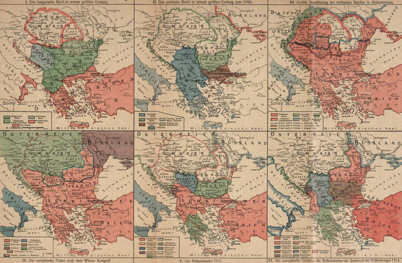 The Prolonged War Violence The Reshaping Of Europe 1918 1923