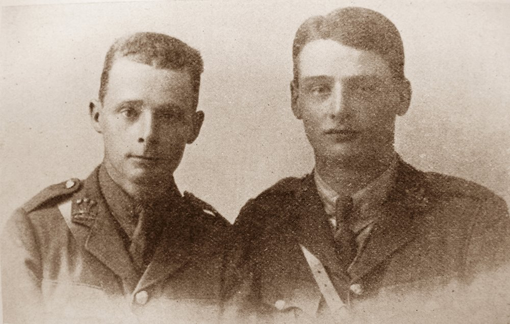 Brothers in arms: the lives & deaths of Arnold & Donald Fletcher
