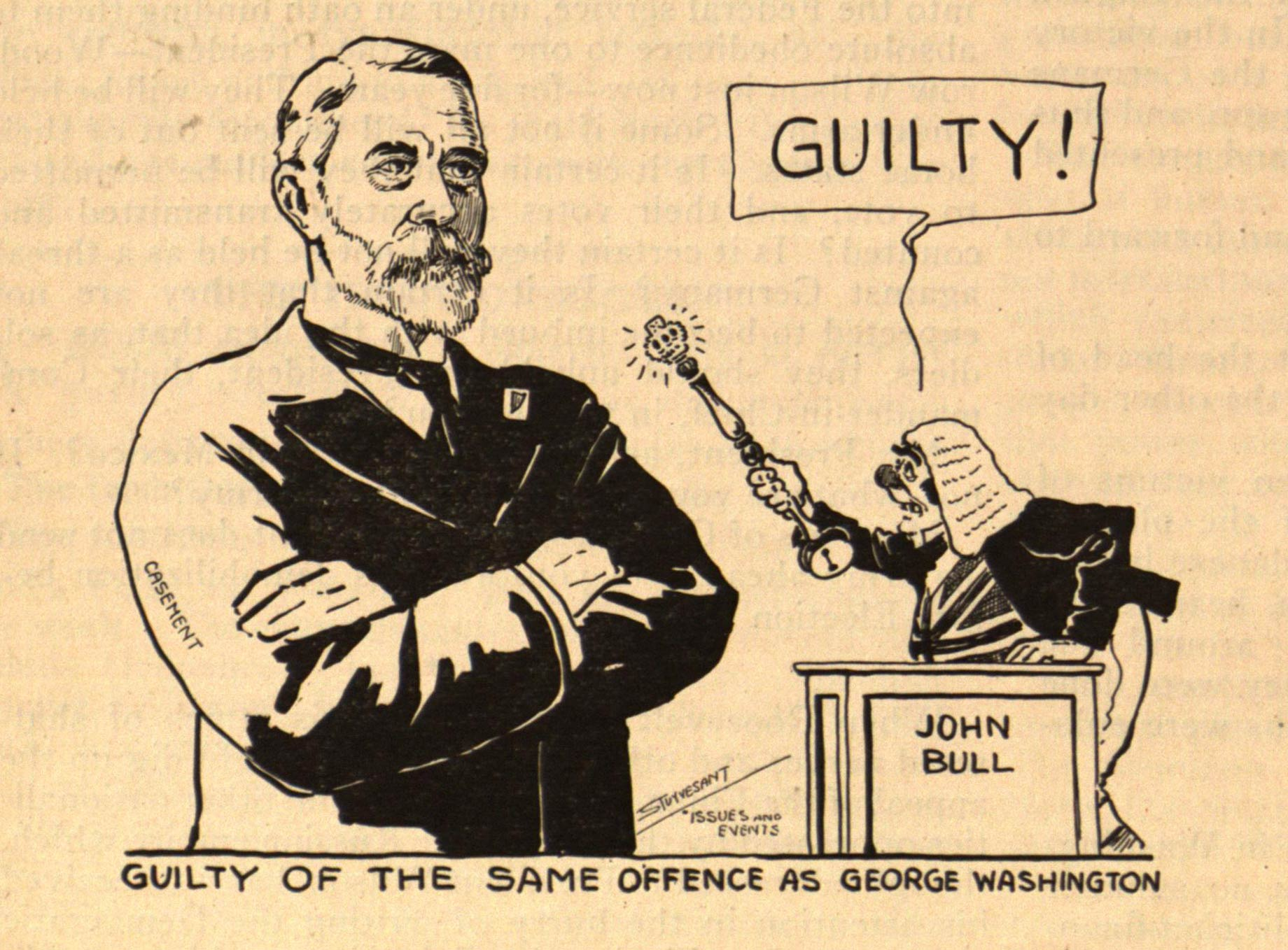 Roger Casement sentenced to death