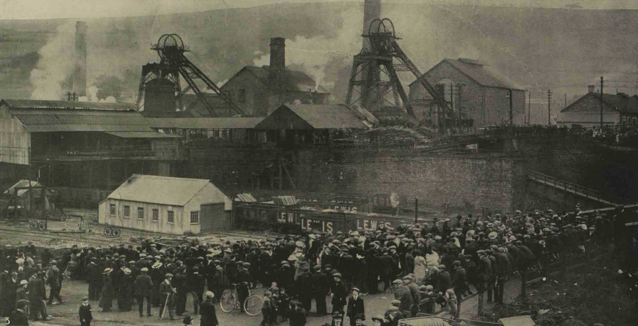 Explosion in Welsh colliery