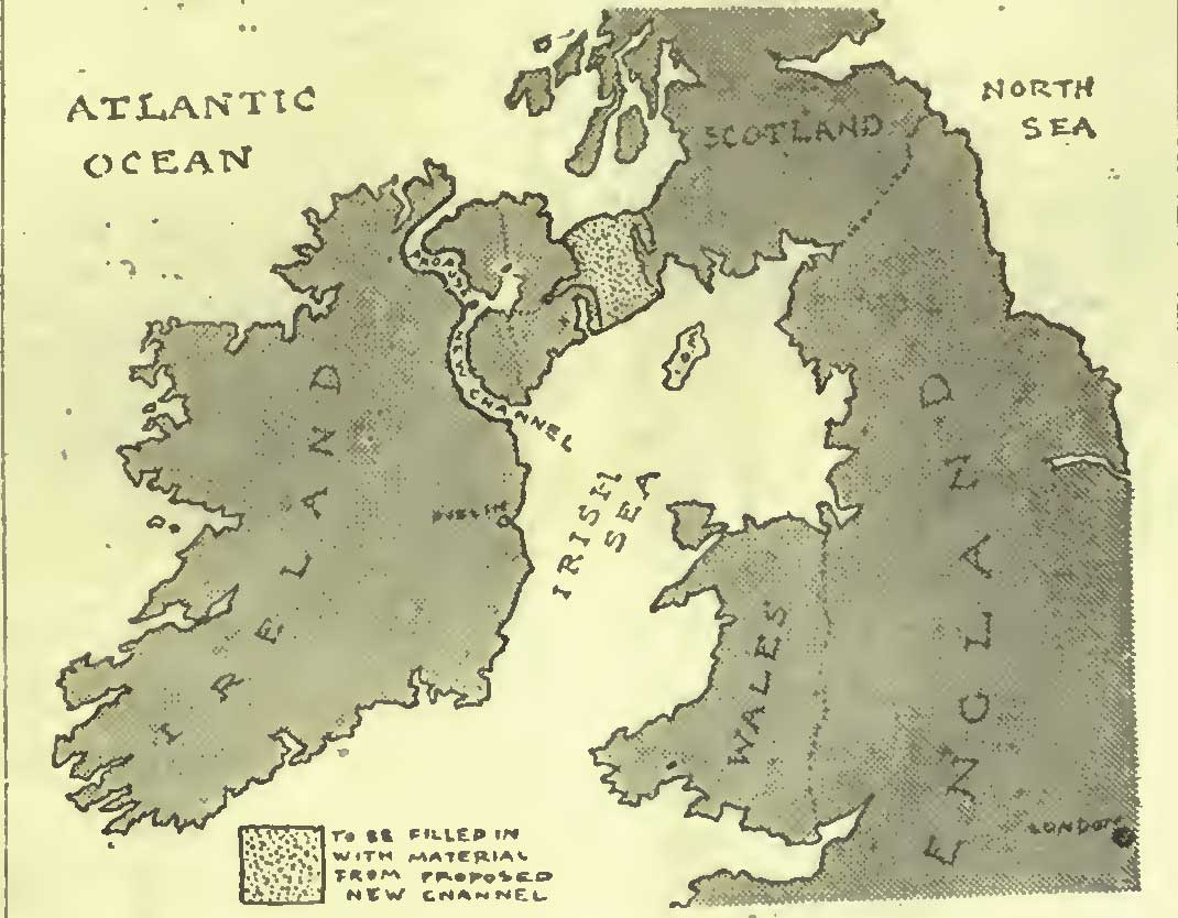 Photograph of Churchill proposes partition of Ireland