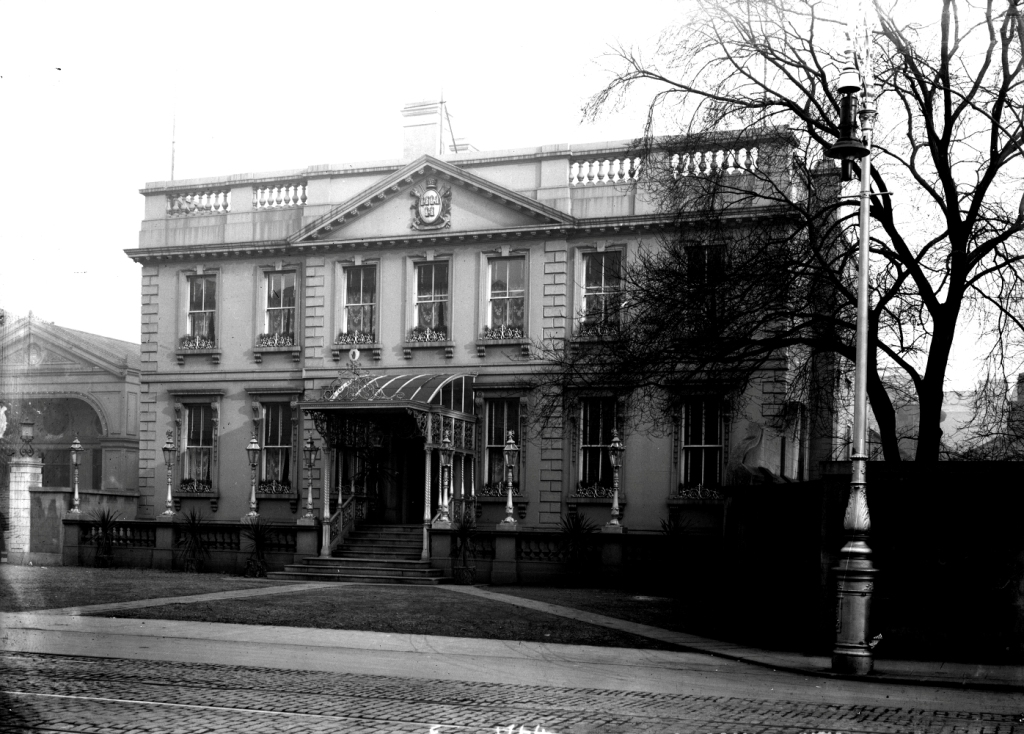 The Mansion House in Dublin, where Fr Cullen addressed the National Catholic Total Abstinence Congress