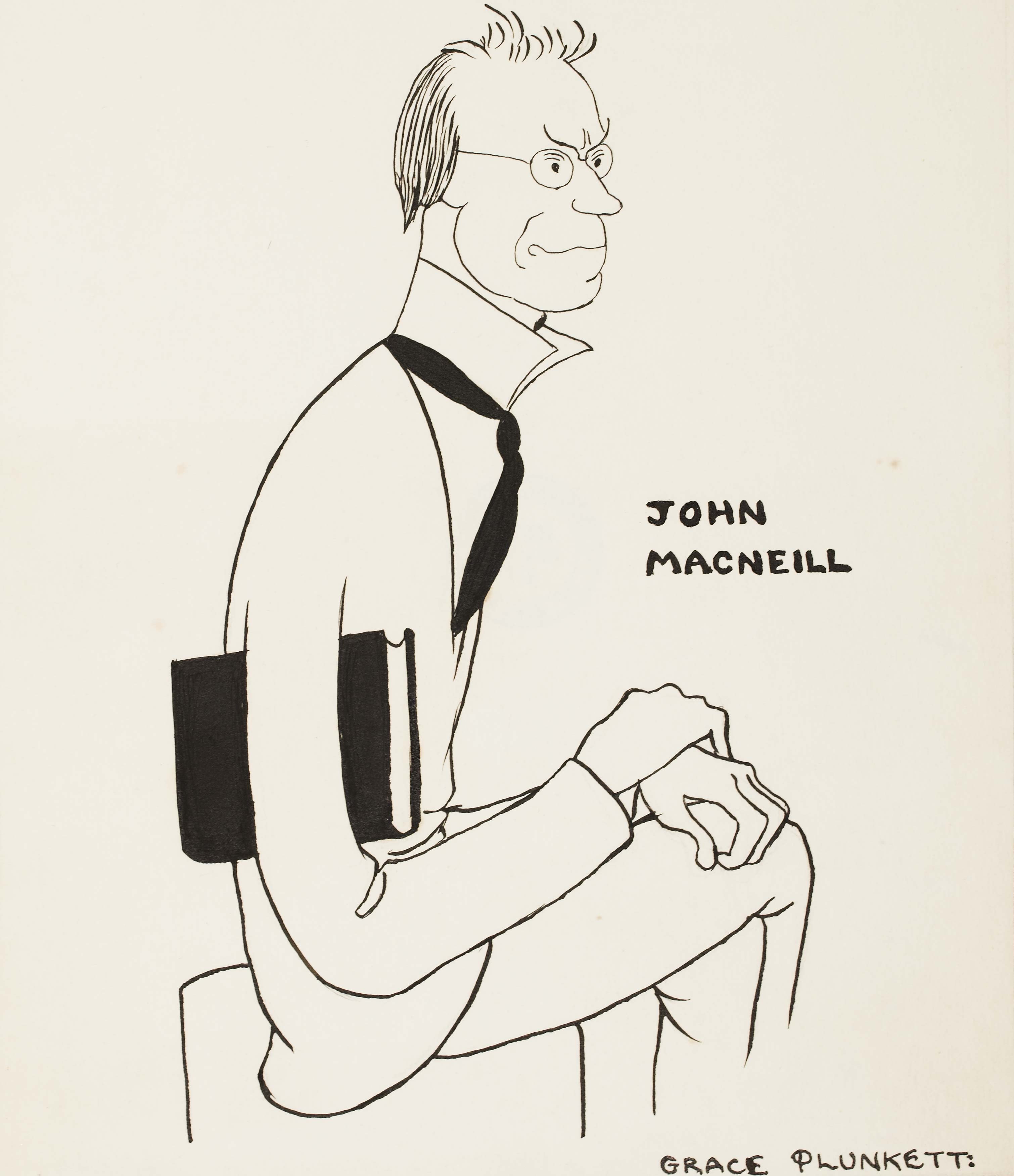 Eoin MacNeill reluctantly commits to one more year as Conradh president
