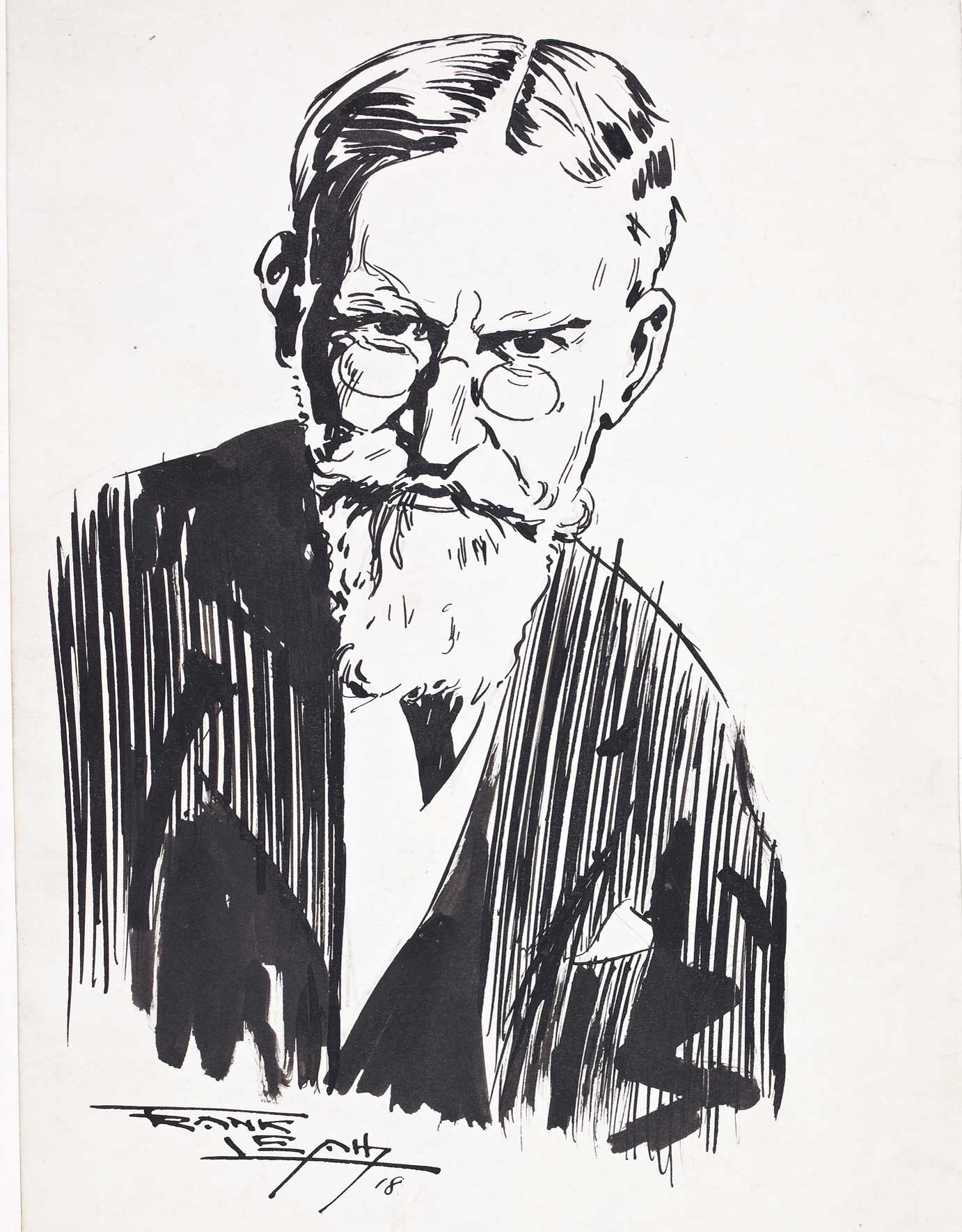 George Bernard Shaw, addressing a large audience at the Royal Albert Hall in London, was highly critical of the the behaviour of the Catholic clergy in Dublin.