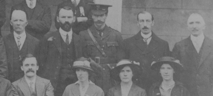 Cathal Brugha arrested for refusing to give name in English