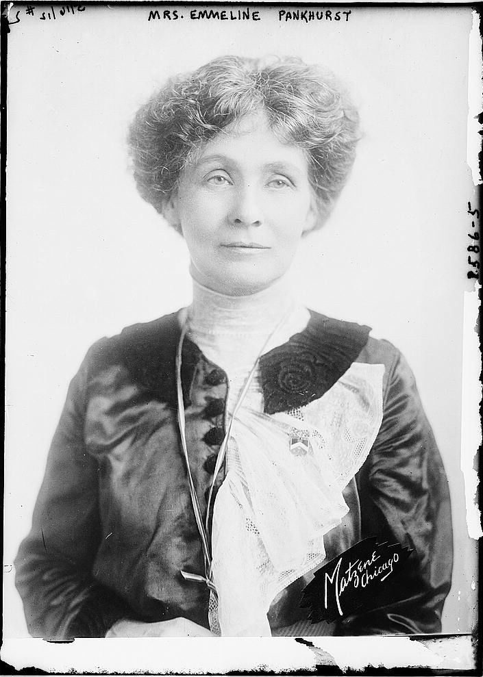 Emmeline Pankhurst released from prison