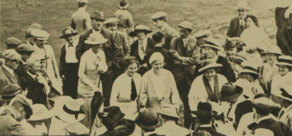 Miss Cecil Leitch wins Ladies Golf Championship