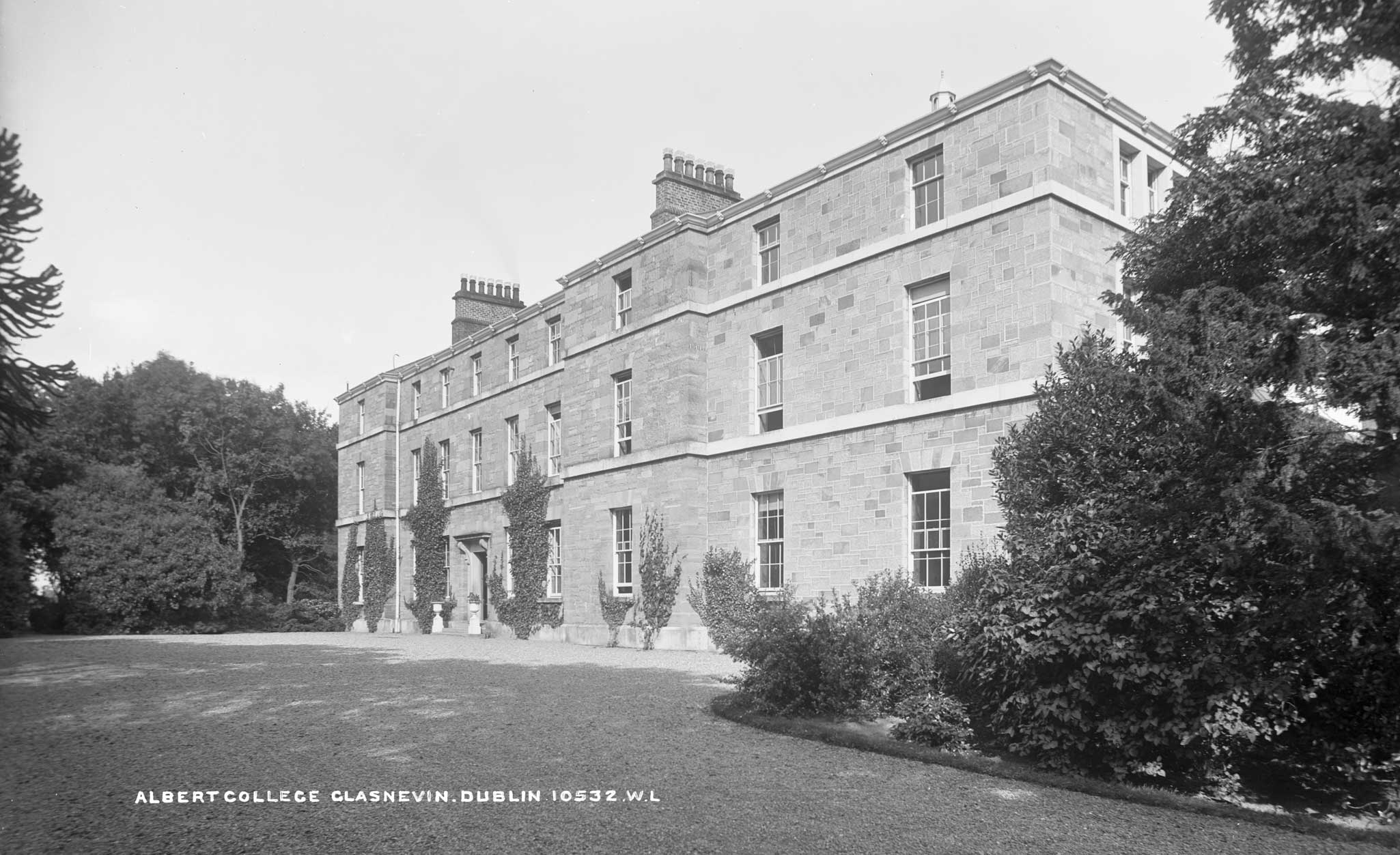 The Albert College in Glasnevin, where the meeting of the Council of Agriculture took place