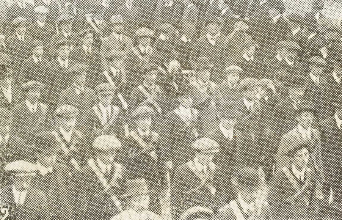 Dublin Volunteers. Published in An Claidheamh Soluis, 30 May 1914