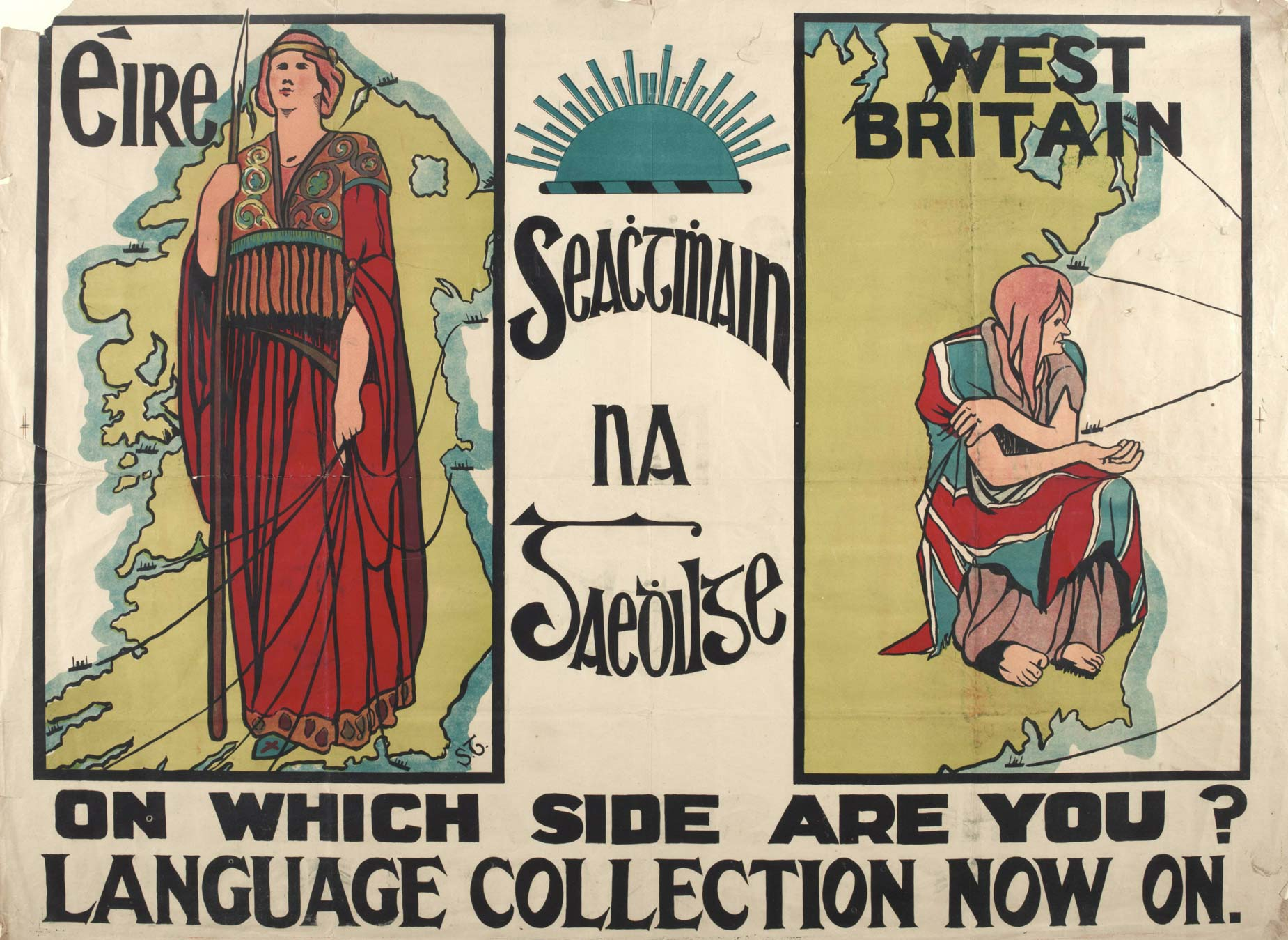 The Gaelic League and the 1916 Rising