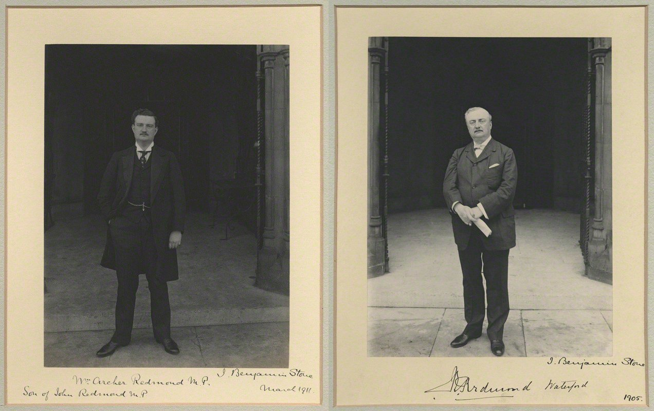 John Redmond visits munitions factory in Wicklow