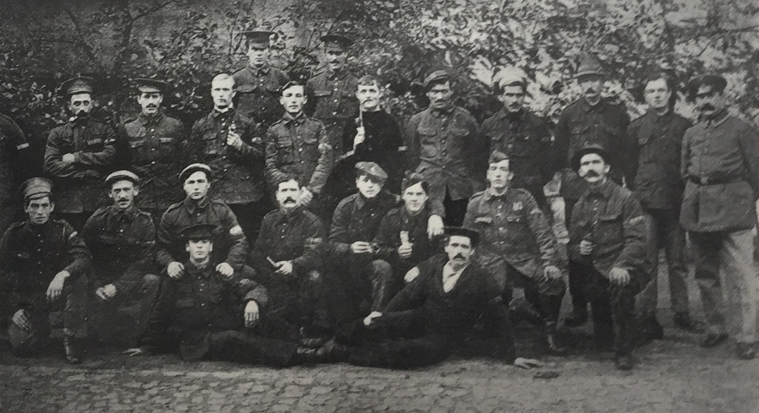 British prisoners of war well treated in Germany
