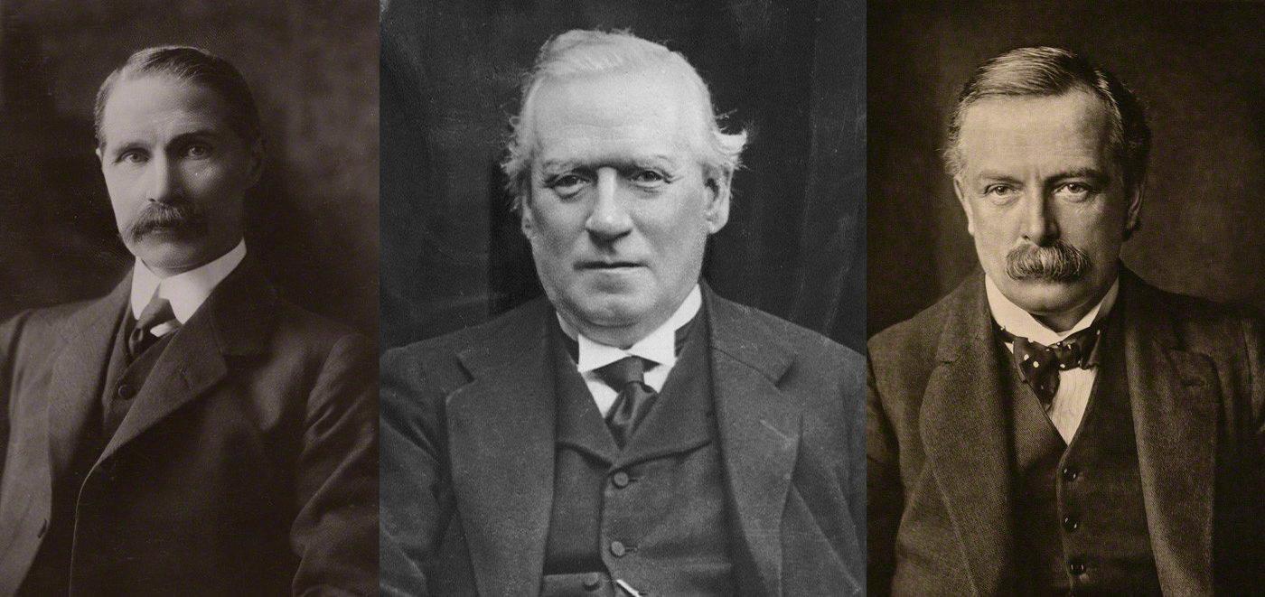 Photograph of Asquith resigns as Prime Minister