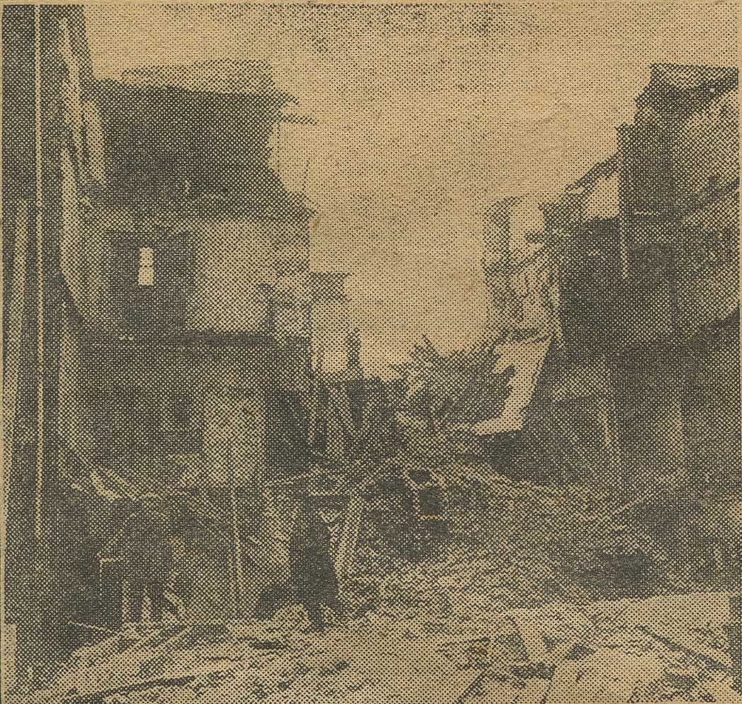 Tragedy in Dublin as tenements collapse