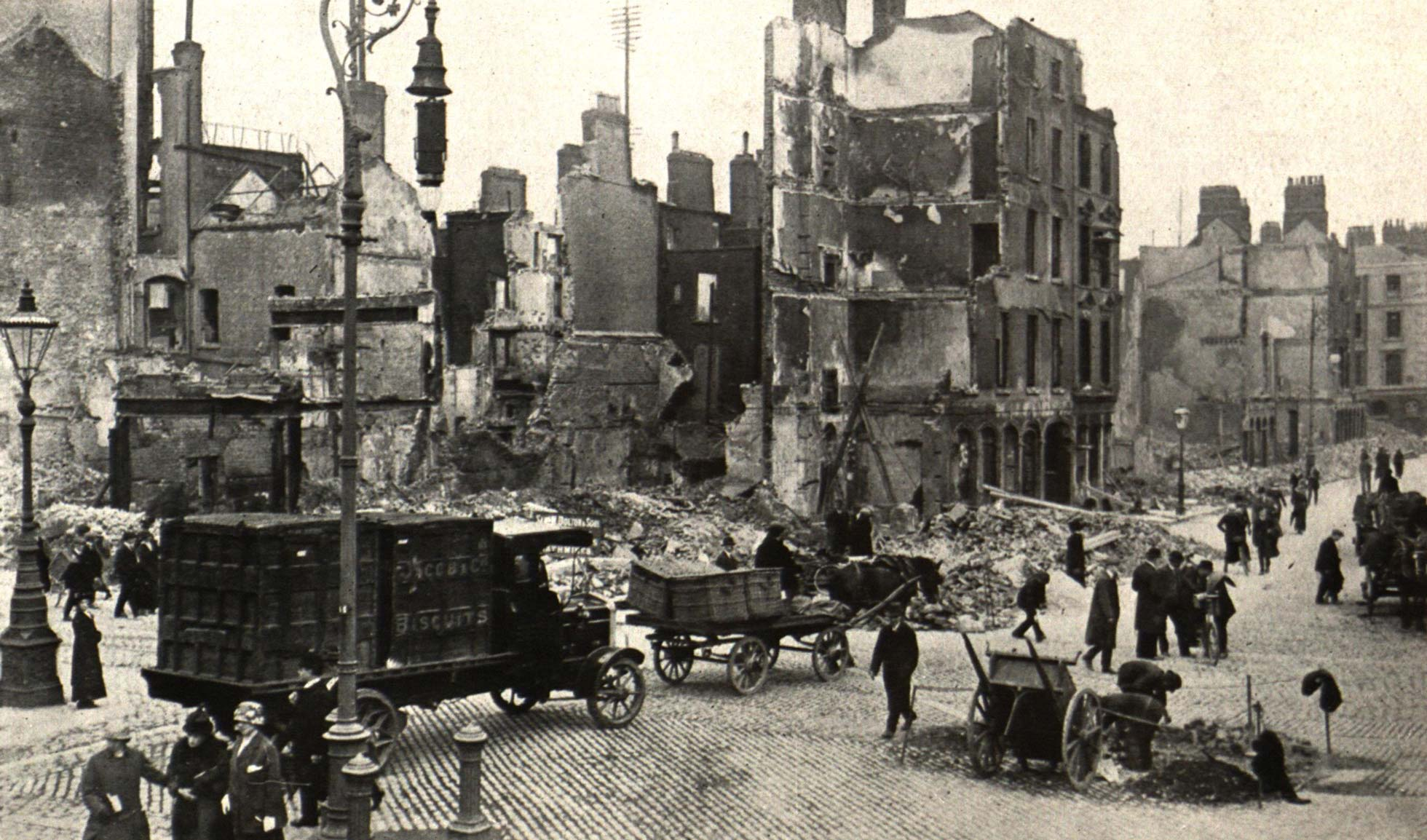 A tale of two cities: rebuilding Dublin and London