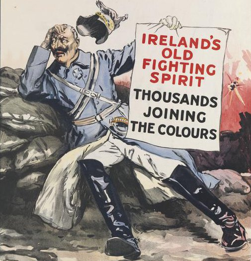 Photograph of Abandon the Irish Party and get conscription, Irish MPs warn