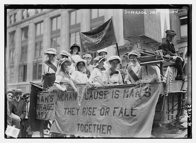 Anti-love strike suggested at suffragette meeting