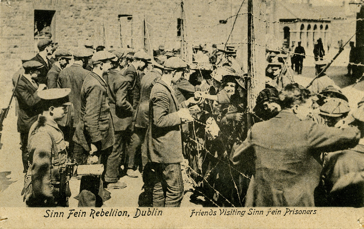 Remarkable scenes as interned prisoners return to Dublin