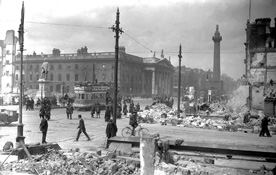 What was the Easter Rising?