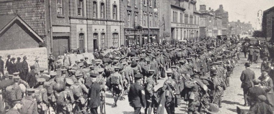 RTÉ Morning Ireland - Centenary of the outbreak of WWI