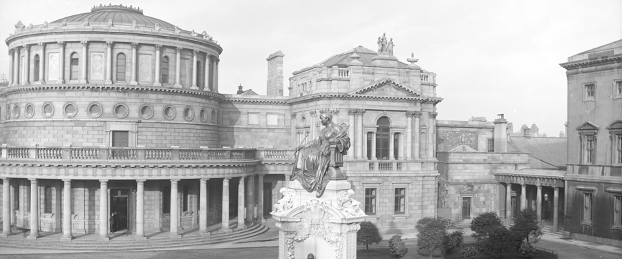 RTÉ - The History Show - Budget Cuts and the National Library in 1915