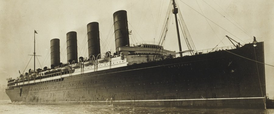 RTÉ - The History Show - The Sinking of the RMS Lusitania
