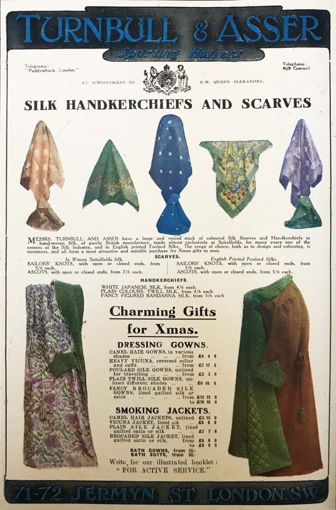 Ed 116 Turnbull and Asser Ad Advertisement