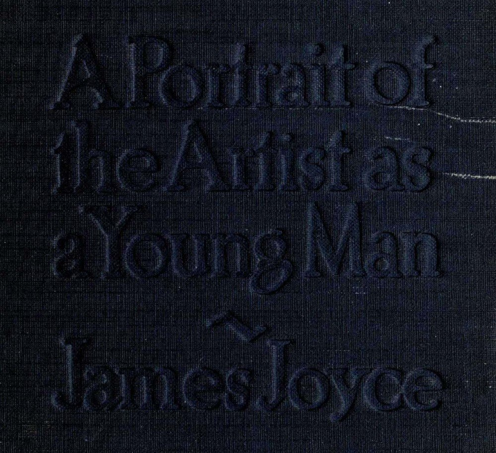 publishing the artist s portrait james joyce and his tiresome cover of a portrait of the artist as a young man as published by b w huebsch in 1917 image the internet archive archive org