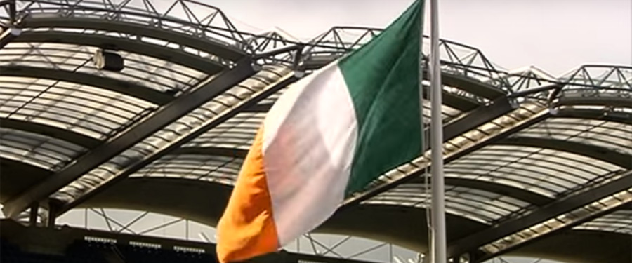 Schools mark 1916 at Croke Park Flag Ceremony