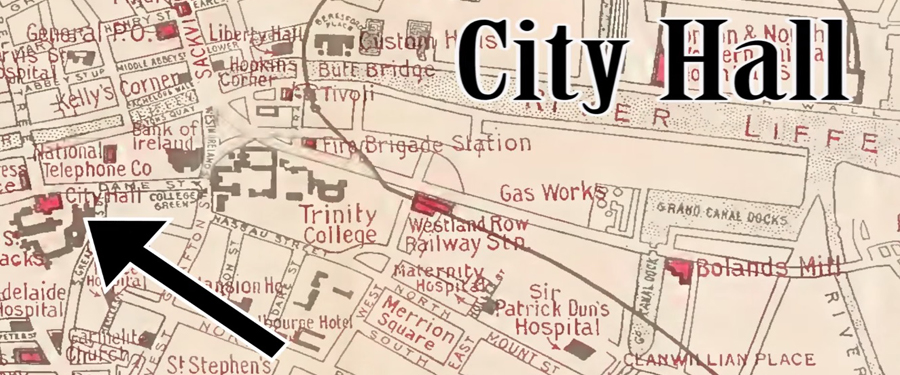 Sites of 1916: City Hall