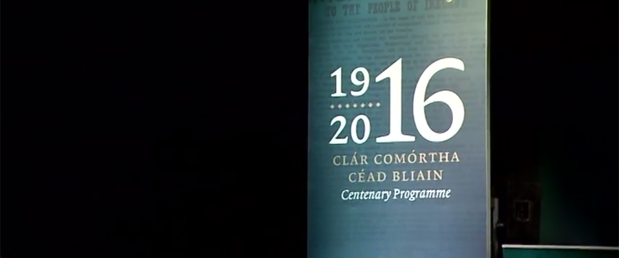 Launch of the Ireland 2016 Centenary Programme