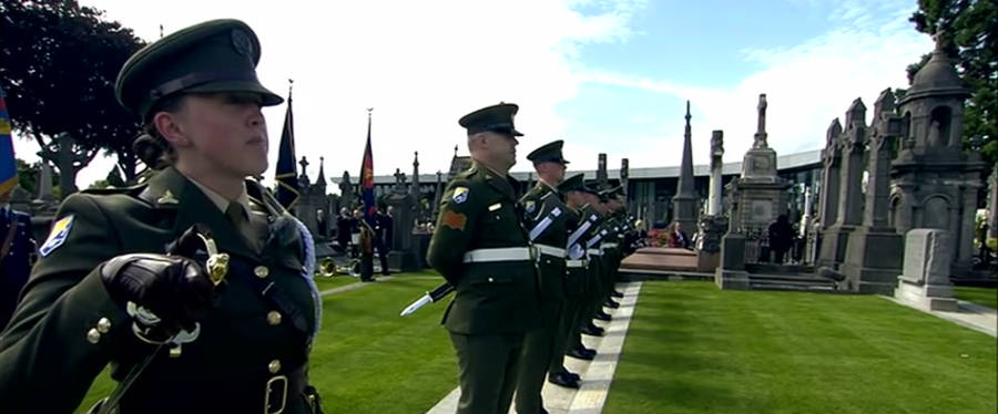 State Commemoration of the Funeral of O'Donovan Rossa