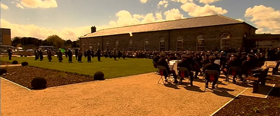 Irish rebels held in Richmond Barracks are remembered