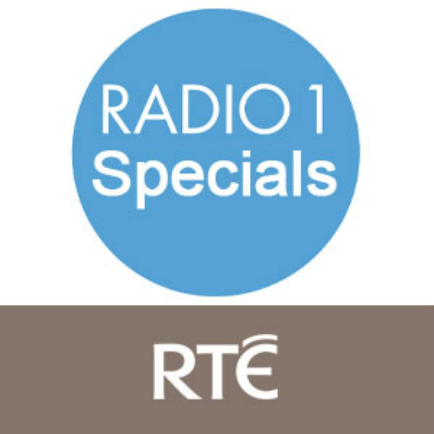 RTÉ - RTE Radio 1 Music Specials
