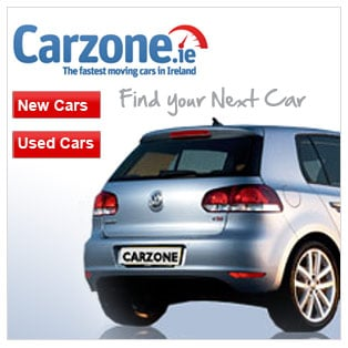 Serach for new & used cars in association with Carzone.ie